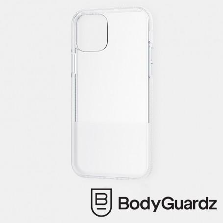 美國 BodyGuardz iPhone 12 mini Stack 俐落雙色調抗菌軍規殼 - 透明