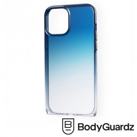 美國 BodyGuardz iPhone 12 mini Harmony 和諧曲線抗菌軍規殼 - 藍色漸層