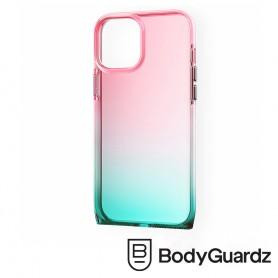 美國 BodyGuardz iPhone 12 Pro Max Harmony 和諧曲線抗菌軍規殼 - 紅綠漸層