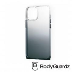 美國 BodyGuardz iPhone 12 Pro Max Harmony 和諧曲線抗菌軍規殼 - 黑色漸層