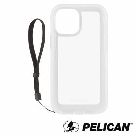 美國 Pelican 派力肯 iPhone 12 Pro Max 抗菌防摔殼 Marine Active 陸戰隊輕裝版 - 透明