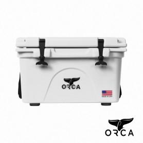 美國ORCA殺人鯨超強保冰冰桶26QT(24.6L) - 白色