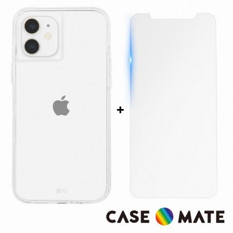 美國 Case-Mate iPhone 12/12 Pro Tough Clear 強悍防摔手機保護殼 - 透明 (贈原廠螢幕玻璃保護貼)