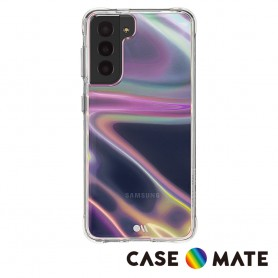 美國 Case●Mate Samsung Galaxy S21 Ultra Soap Bubble 幻彩泡泡防摔抗菌手機保護殼