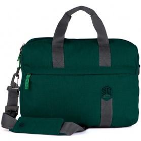 澳洲STM Judge 15吋手提側背兩用包 - 植物綠