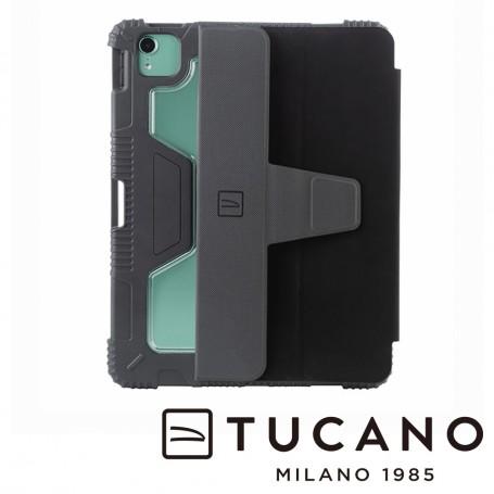 義大利 TUCANO Educo 軍規防摔殼 iPad Air 10.9吋 (第4代) - 黑色