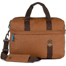 澳洲STM Judge 15吋手提側背兩用包 - 沙漠棕