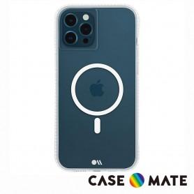 美國 Case-Mate iPhone 12/12 Pro Tough Clear Plus 環保抗菌防摔加強MagSafe版手機保護殼