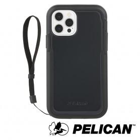 美國 Pelican 派力肯 iPhone 12 Pro Max 防摔抗菌手機保護殼 Marine Active 陸戰隊輕裝版 - 黑