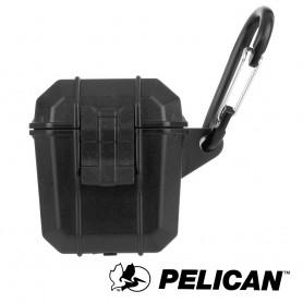美國 Pelican 派力肯 AirPods 1-2 Marine 陸戰隊防水防摔保護殼- 黑色