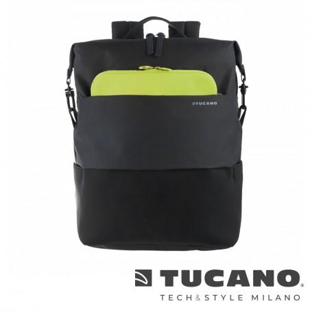 義大利 TUCANO Modo 智慧子母設計後背包13吋- 黑色