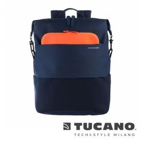 義大利 TUCANO Modo 智慧子母設計後背包13吋- 藍色