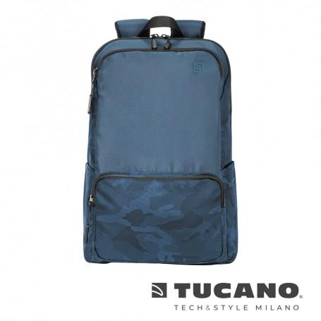 義大利 TUCANO Terras 城市冒險背包 15吋- 藍色迷彩