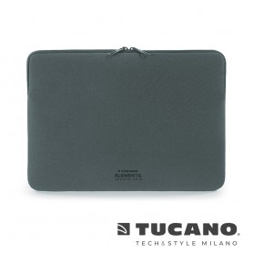 義大利 TUCANO Elements 高階防滑落筆電袋 16吋 - 太空灰色