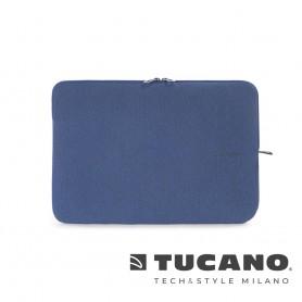 義大利 TUCANO Melange 優雅防滑落筆電袋 15吋 - 藍色
