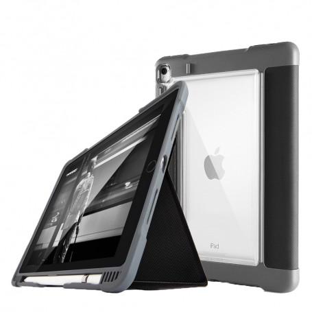 澳洲STM Dux Plus iPad Pro 10.5吋 專用軍規防摔殼 - 黑