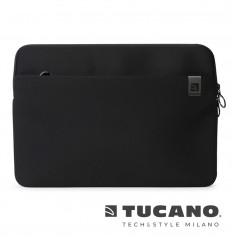 義大利 TUCANO Top 頂級防滑落筆電袋 16吋 - 黑色