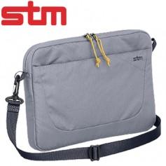 澳洲STM Blazer 11吋輕便可肩背筆電袋-銀灰色