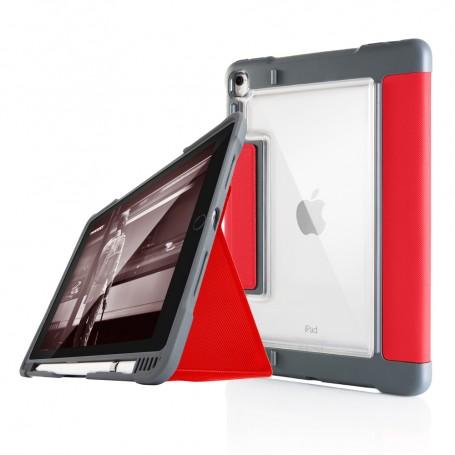 澳洲STM Dux Plus iPad Pro 10.5吋 專用軍規防摔殼 - 紅