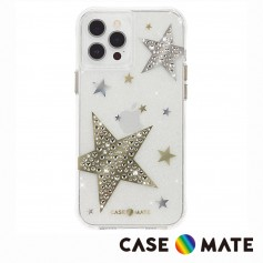 美國 Case●Mate iPhone 12 Pro Max Sheer Superstar 星光水鑽防摔抗菌手機保護殼