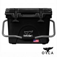 (預購)美國ORCA殺人鯨超強保冰冰桶20QT(18.9L) - 黑色