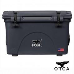 (預購)美國ORCA殺人鯨超強保冰冰桶40QT(37.9L) - 碳灰色