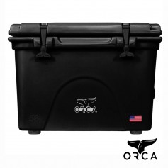 (預購)美國ORCA殺人鯨超強保冰冰桶58QT(54.9L) - 黑色