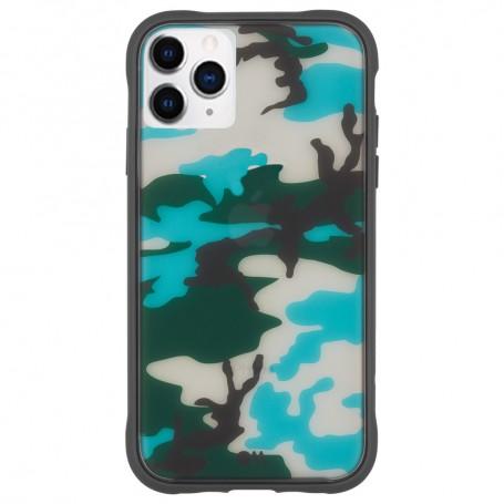 【福利品】美國 Case●Mate iPhone 11 Pro Max Camo 強悍防摔手機保護殼 - 軍綠迷彩