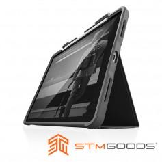 澳洲軍規 STM Dux Plus for iPad Air 10.9吋 (第四代) 強固軍規防摔平板保護殼 - 黑