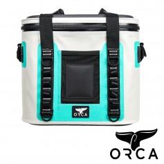 (預購)美國ORCA殺人鯨超強保冰抗菌軟式冰桶20CANS - 水藍綠色