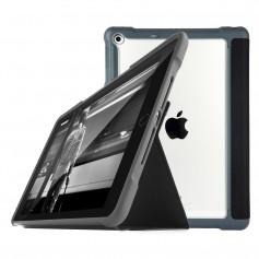 澳洲STM Dux iPad 9.7吋 (2018/2017) 專用軍規防摔殼 - 黑