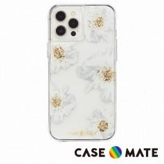 美國 Case●Mate iPhone 12/12 Pro Karat Floral 金箔花漾防摔抗菌手機保護殼