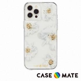 美國 Case●Mate iPhone 12 Pro Max Karat Floral 金箔花漾防摔抗菌手機保護殼