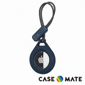 美國 Case●Mate Tough Sport AirTag 專用軍規防摔吊飾 - 深藍