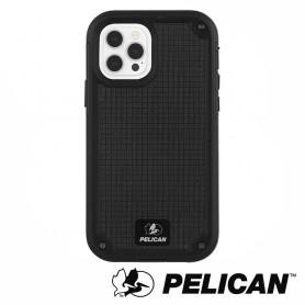 美國 Pelican 派力肯 iPhone 12/12 Pro 防摔抗菌手機保護殼 Shield G10背板防護盾 - 黑