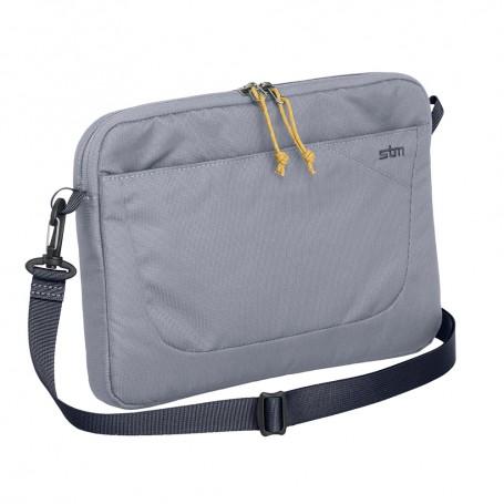 澳洲STM Blazer 15吋輕便可肩背筆電袋-銀灰色