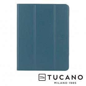 """義大利 TUCANO Premio iPad Pro 11"""" (2021) 專用亮彩輕盈抗摔保護殼 - 石油藍"""
