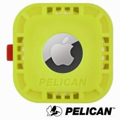美國 Pelican 派力肯 AirTag 專用黏貼式固定座 - 萊姆綠