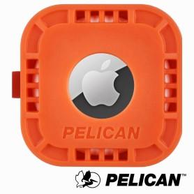 美國 Pelican 派力肯 AirTag 專用黏貼式固定座 - 橘