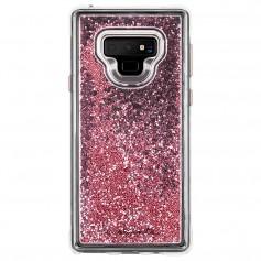 美國 Case-Mate Samsung Galaxy Note9 Waterfall 亮粉瀑布單層防摔手機保護殼 - 玫瑰金