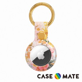 美國 Case●Mate x Rifle Paper Co. AirTag專用吊飾鑰匙圈 - 瑪格麗特