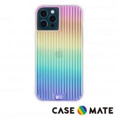 美國 Case●Mate iPhone 13 Pro Max Tough Groove 彩虹波浪防摔抗菌手機保護殼