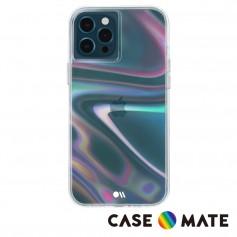 美國 Case●Mate iPhone 13 Pro Max Soap Bubble 幻彩泡泡防摔抗菌手機保護殼