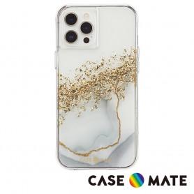 美國 Case●Mate iPhone 13 Pro Max Karat Marble 鎏金石紋防摔抗菌手機保護殼