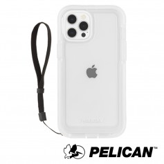 美國 Pelican 派力肯 iPhone 13 Pro Max 防摔抗菌殼 Marine Active 陸戰隊輕裝版 - 透明