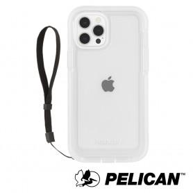 美國 Pelican 派力肯 iPhone 13 Pro 防摔抗菌保護殼 Marine Active 陸戰隊輕裝版 - 透明