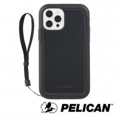 美國 Pelican 派力肯 iPhone 13 防摔抗菌手機保護殼 Marine Active 陸戰隊輕裝版 - 黑
