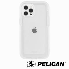 美國 Pelican 派力肯 iPhone 13 Pro 防摔抗菌手機保護殼 Voyager 航海家 - 透明