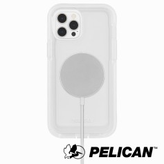 美國 Pelican 派力肯 iPhone 13 防摔抗菌手機保護殼 Voyager 航海家MagSafe專用版 - 透明