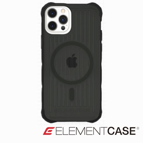 美國 Element Case Special Ops iPhone 13 Pro Max 特種行動軍規防摔殼MagSafe版 - 透黑